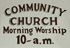 Pownal Center Community Church