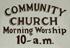 Pownal Center Community Church
